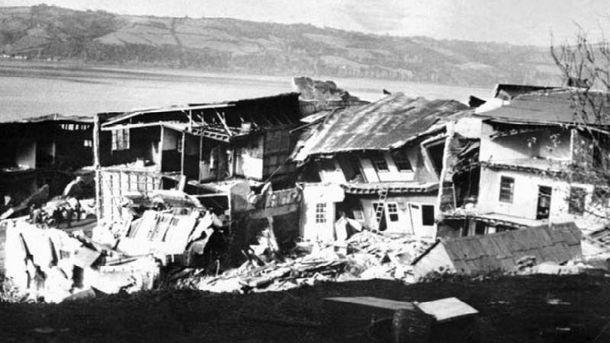 Самое мощное землетрясение