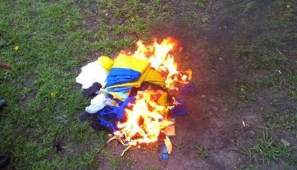Житель Покровска срывал государственные флаги