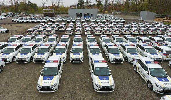Украинская полиция получит новые гибридные Mitsubishi
