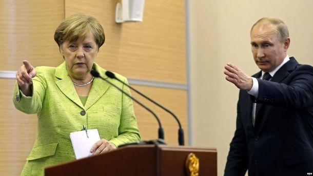 Результати зустрічі Меркель і Путіна цілком влаштовують Україну?