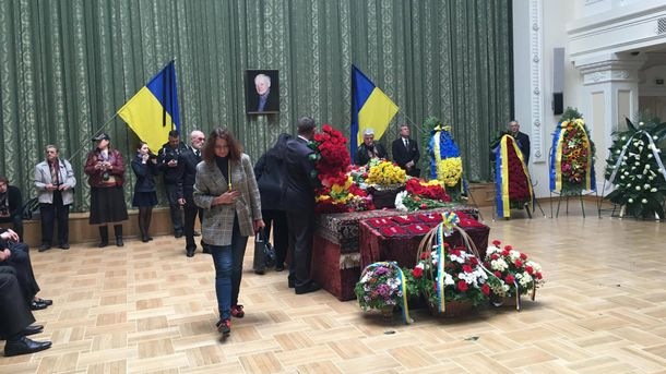 Похороны Бориса Олийныка