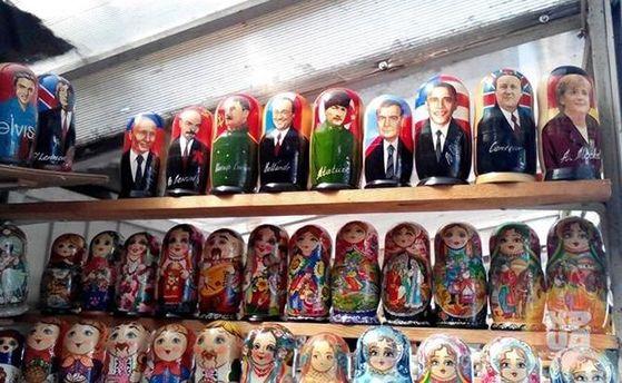 В Киеве продают пророссийские сувениры к Евровидению-2017