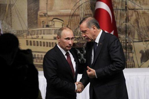 Путин договорился с Эрдоганом о частичном снятии взаимных санкций