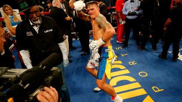 Усик очолив рейтинг найкращих боксерів