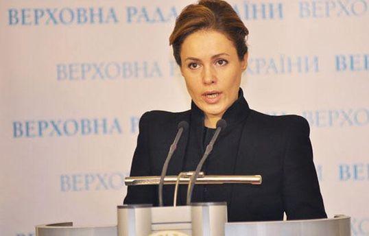 Наталью Королевскую встретили с протестами в Славянске