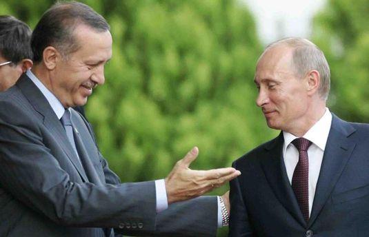 Владимир Путин и Реджеп Эрдоган встретились в Сочи