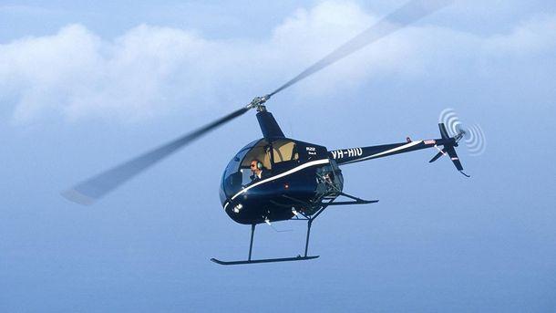 Вертолет марки Robinson