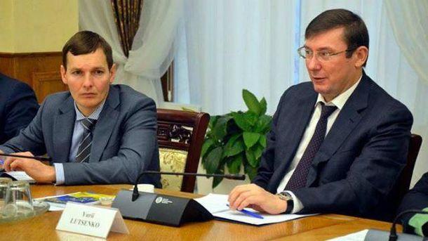 Евгений Енин и Юрий Луценко