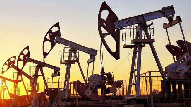 Ціна на нафту різко впала