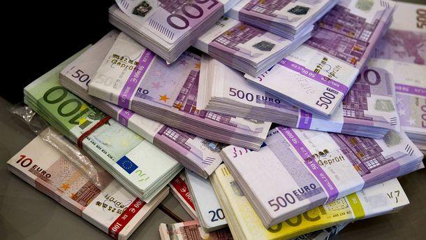 Евро начал расти