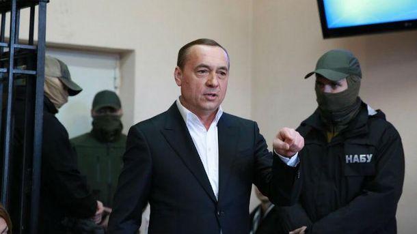 Николай Мартыненко в суде