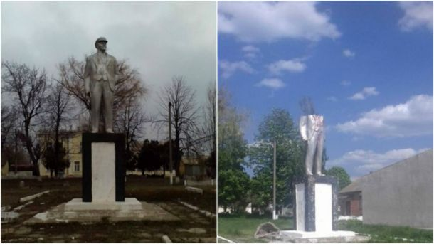 Останній пам'ятник Леніну на Одещині