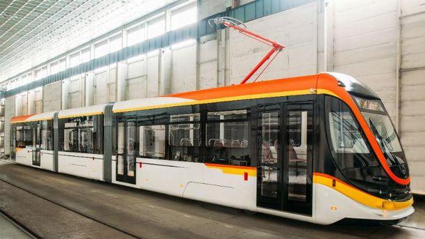 Новий трамвай розробили в Одесі