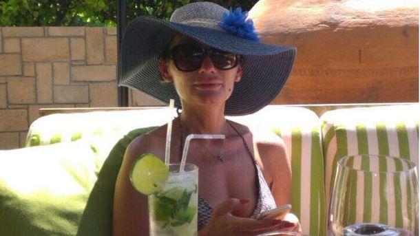 Екатерина Рожкова отдыхает на Кипре