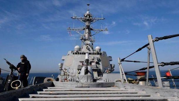 Эсминец США Arleigh-Burke USS Oscar Austin (DDG79)