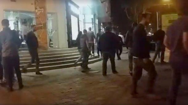Драка на Дерибасовской в Одессе