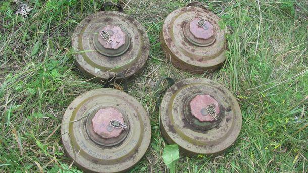 Боевики используют противотанковые мины ТМ-62