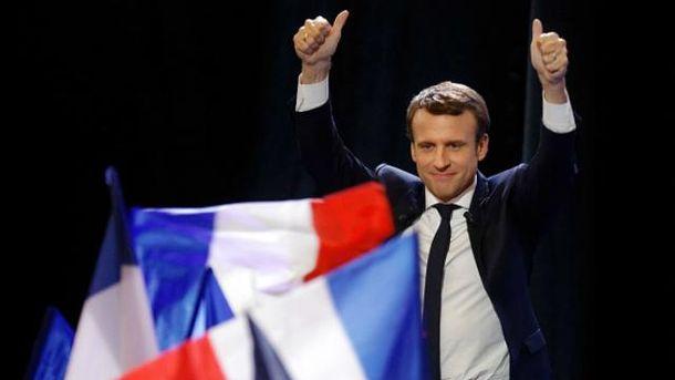 Еманюель Макрон став наймолодшим президентом Франці