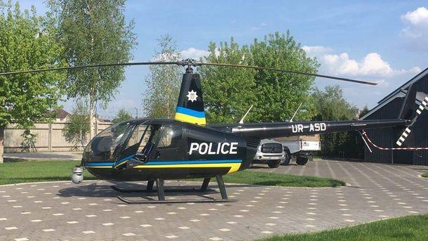 Вертоліт Нацполіції