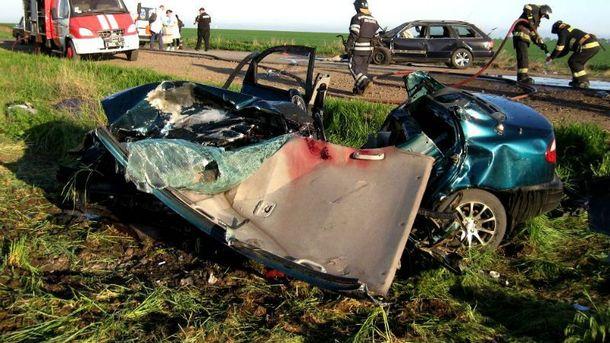 В аварии погибли 5 человек