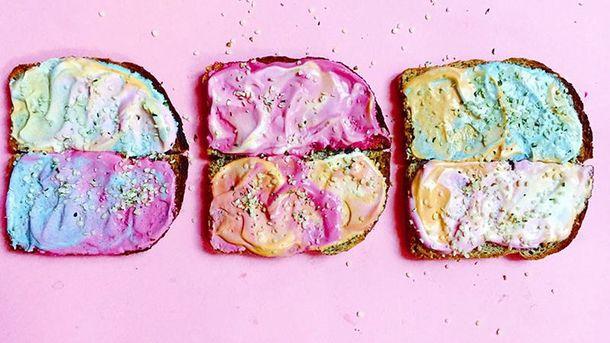 Цветные бутерброды