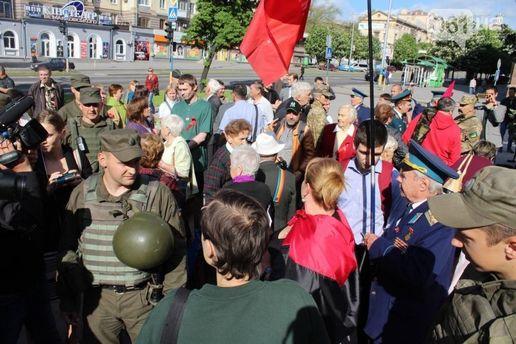 9 мая в Запорожье началось со столкновений: появились фото и видео