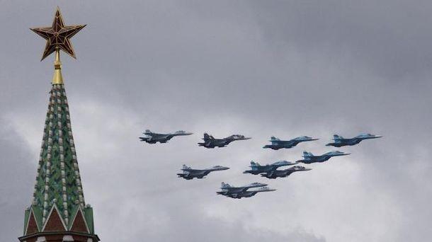 Авиация на параде 9 мая в Москве