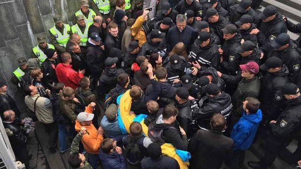 Сутички у Києві 9 травня