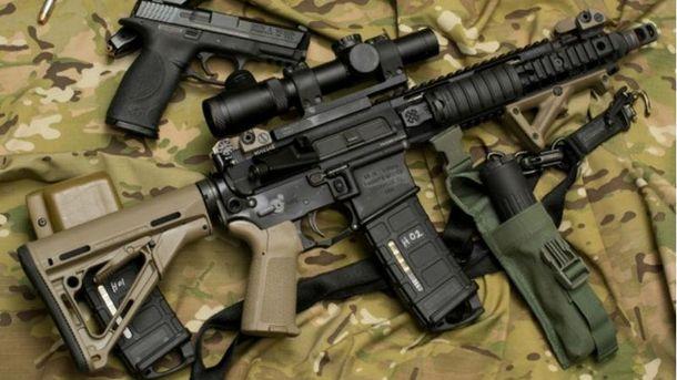 Задержали торговца оружия с АТО