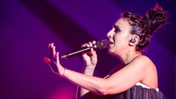 Джамала під час репетиції на Євробаченні