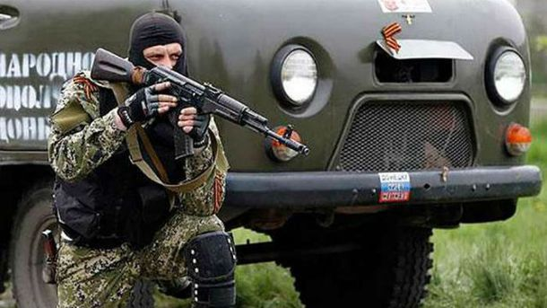 Боевики убежали, когда ВСУ открыли огонь