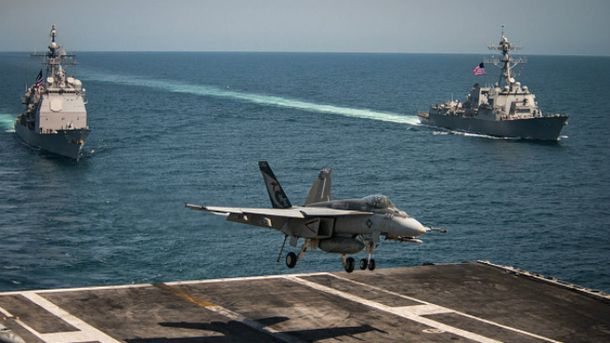 Військовий корабель ВМС США потрапив в аварію в Японському морі