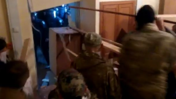 Столкновения в штабе ОУН в Киеве