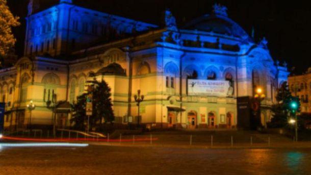 Вечірній Київ під час Євробачення-2017