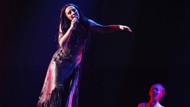 Джамала на сцене Евровидении-2017