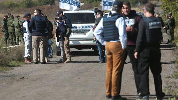 Представники СММ ОБСЄ на Донбасі