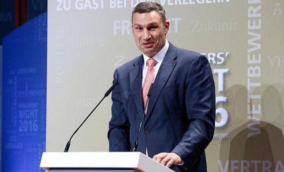 Виталий Кличко заработал в апреле меньше, чем его заместители