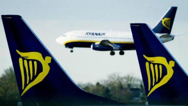 Ryanair може літати не тільки зі Львова та Києва