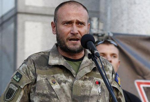 Дмитрий Ярош предостерег власть от восстания в Днепре