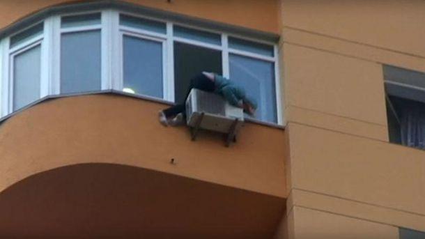 Невдале самогубство у Києві