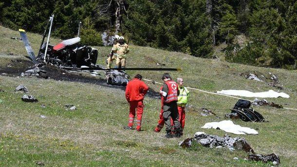 Авария вертолета в Австрии