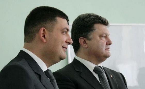 Гройсман і Порошенко