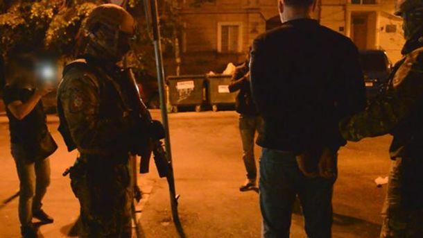 Задержание в Одессе