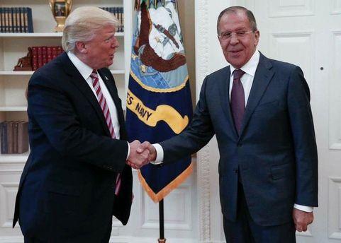 Фото із зустрічі Трампа та Лаврова