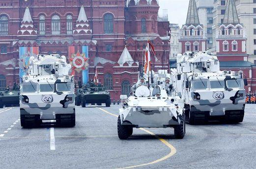 Арктическая техника на параде 9 мая в Москве