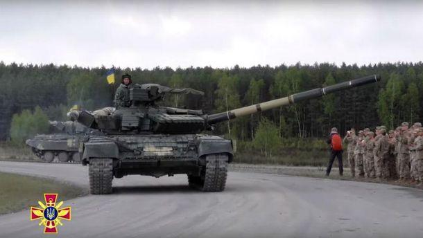 Модернизированный танк Т-64БВ