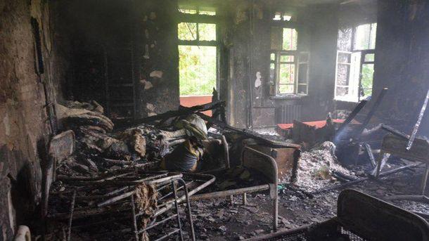 Пожежа у Миколаєві