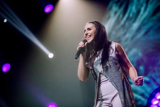 Джамала спела на финале Евровидения-2017 новую песню