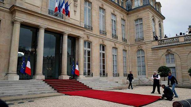 Инаугурация Эммануэля Макрона на президента Франции