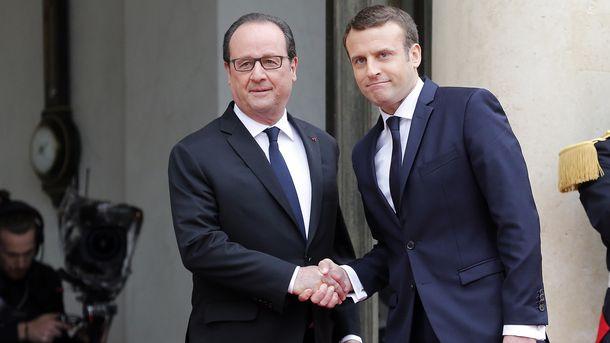 Франсуа Олланд передав президентські повноваження Еманюелю Макрону
